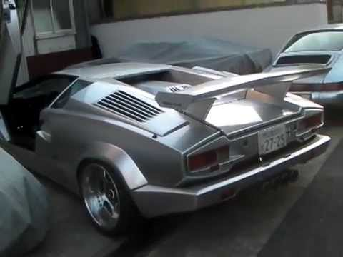 lamborghini countach anniversary exhaust sound youtube. Black Bedroom Furniture Sets. Home Design Ideas