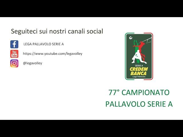 77o Campionato Pallavolo Serie A, la presentazione del Presidente Massimo Righi