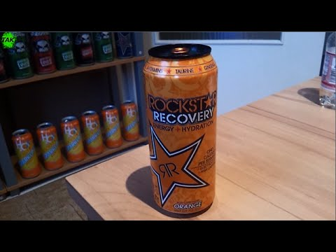 Let´s Drink: Rockstar Recovery Orange (USA)