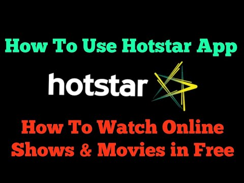 How to use Hotstar App . | How to watch online Shows Free | APP #2| Hindi