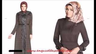 Zühre Pardesü 2014/2015 Sonbahar Kış Koleksiyonu Yeni Sezon Kışlık Tesettür Giyim Kataloğu
