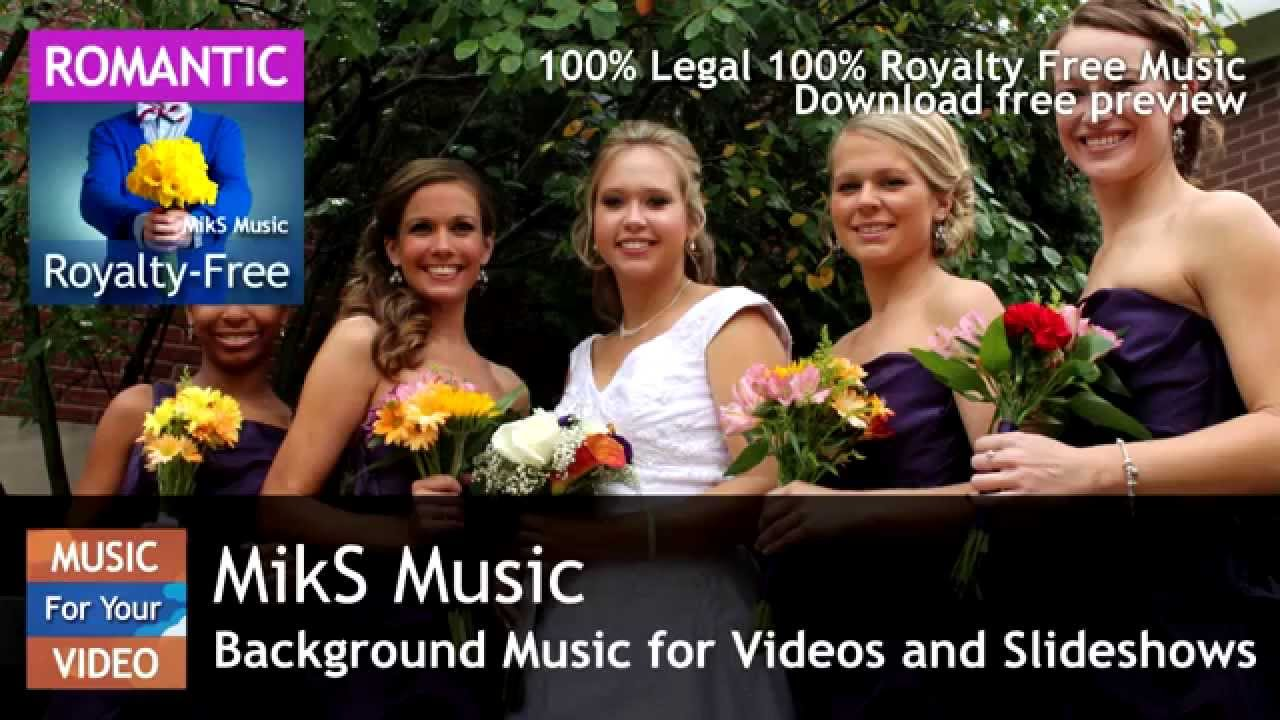 Romantic Piano Solo Music for Wedding Slideshow Video - YouTube