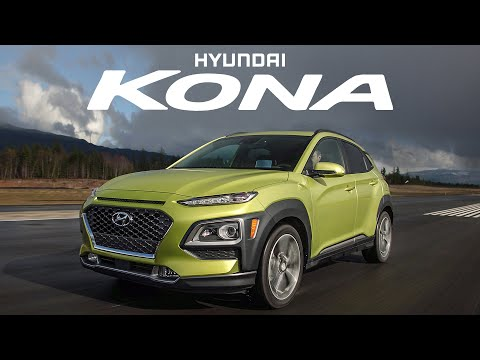 2018 Hyundai Kona Review Turbo Compact Crossover plus DRAG RACE