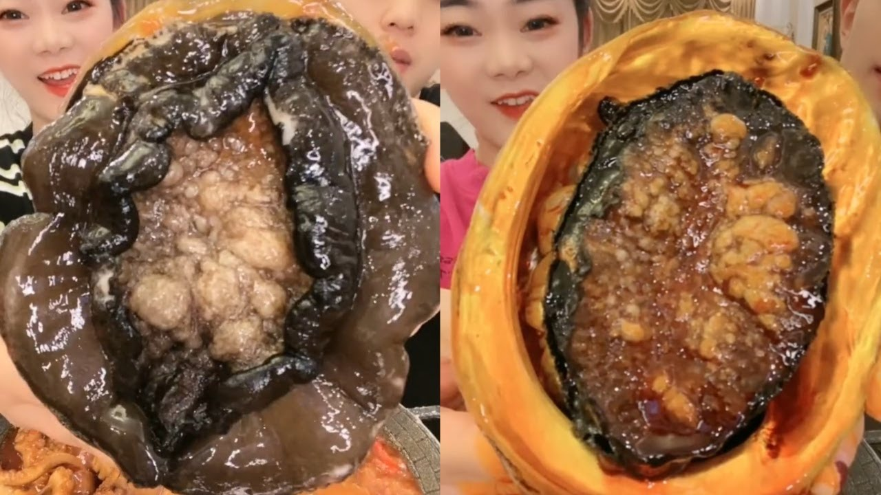 Mukbang Eating Weird Looking Seafood | Mukbang Strange Seafood