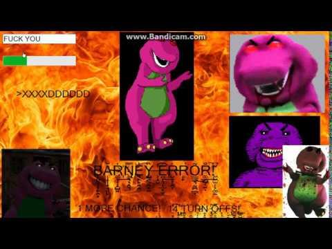 Barney error 1: The 20 chances Wrong code(bad ending #1)