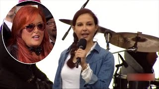 Wynonna Judd Says She's Not Her Sister's Keeper After Ashley's March Speech
