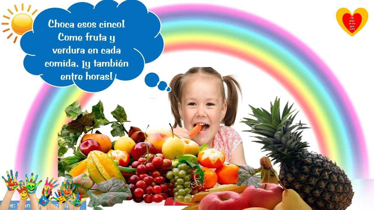 alimentacion sana y saludable para niños ppt