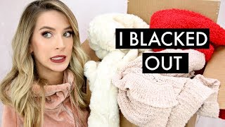 WINTER HAUL + TRY- ON | EXPRESS & NORDSTROM RACK | SUPER CHATTY