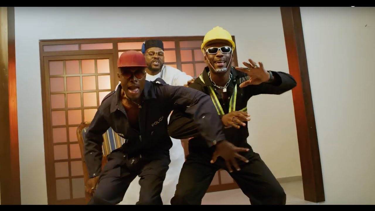 Image result for EL, Joey B and Falz' New Video for 'Ehua'
