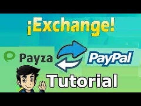 Tutorial   Transferir dinero de Payza a PayPal Facil 100% Funcional   Changer4u.com 2017