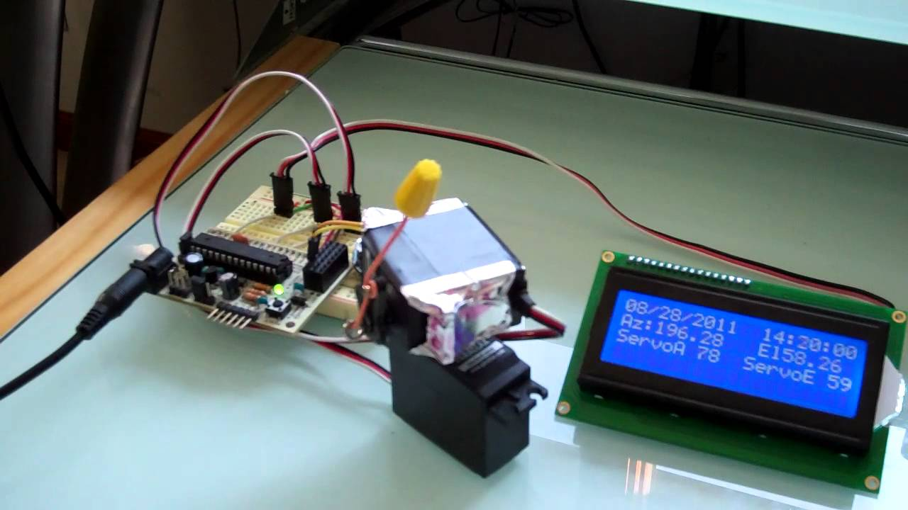 Arduino Solar Tracker Program Panel Tracking System With Solarchargerschematicjpg Driving Hobby Servos Youtube