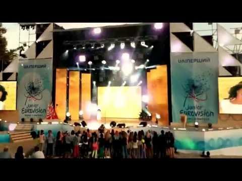 Junior Eurovision Ukraine  Виктория Святогор - Сильна. Вільна  ДЕТСКОЕ ЕВРОВИДЕНИЕ 2015