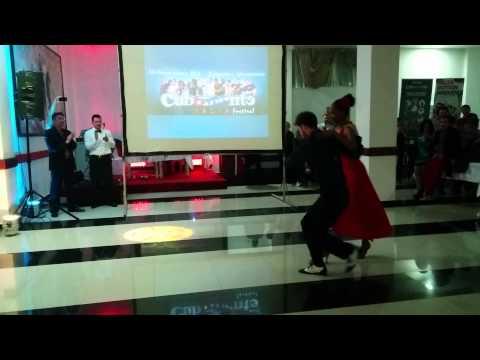Yeni Molinet y Ivan Jovanovic - Show @ Cubamonte 2015