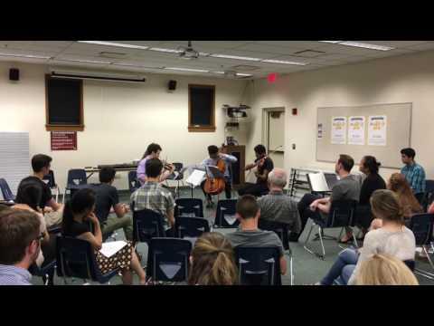 ENCORE Chamber Music String Quartet Intensive