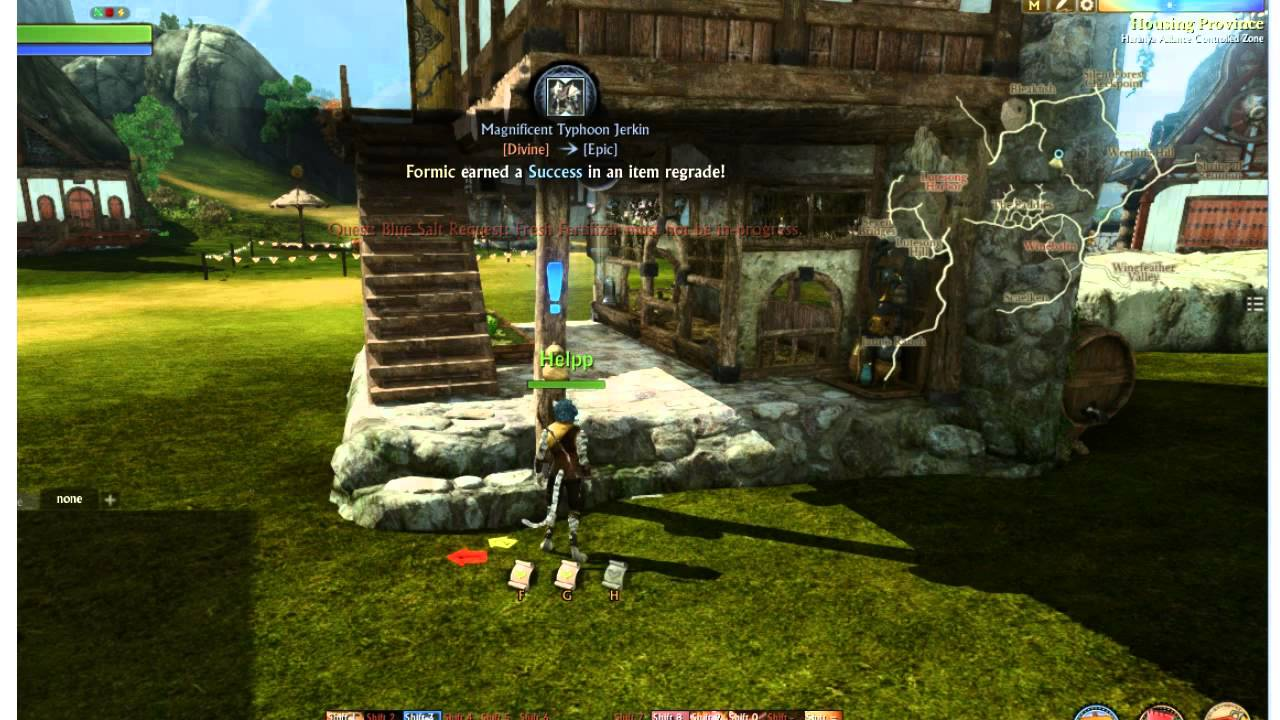 Archeage upgraded thatched farmhouse THE best house in 2.0 - YouTube for Thatched Farmhouse Archeage  54lyp