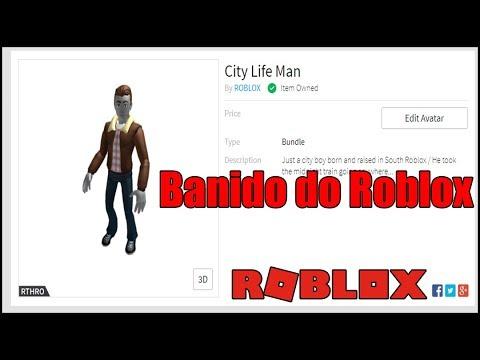 Roblox City Life Man Package Novo Corpinho City Life Man Foi Banido Do Roblox Youtube