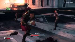 Ryse: Son of Rome Final Boss and End Sequence Part 1 Legendary Difficulty