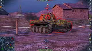 World of Tanks Blitz Game Play (VK 45.03(Tiger 3)) v4.0.0