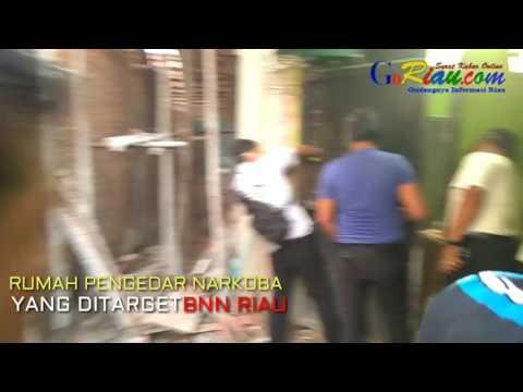 BNN Riau Temukan Lorong dan bunker dari rumah pengedar di Kampung Dalam