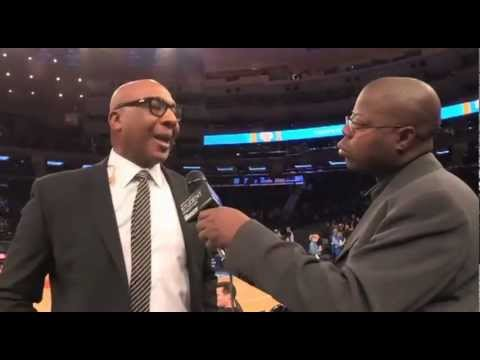 "Derek Harper, Former New York Knick, Interviewed by Derrel ""Jazz"" Johnson"