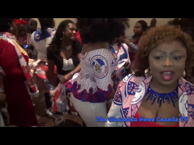 Victory Party For Nana Akuffo Addo In Toronto