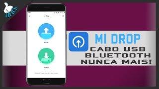 MI drop, O Mais Rápido e Fácil para Transferir Arquivos Entre Android [PT-BR]