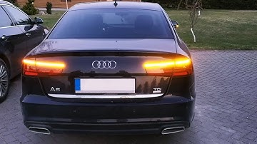 AUDI A6 S6 RS6 | Semi Dynamic Blinker-Modul | semi dynamic turn signal indicator - 4G C7