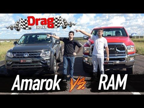 Amarok V6 vs. RAM 2500 (DragRace) | Top Speed