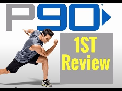 P90 Workout Review & First Impressions - NEW From Tony Horton