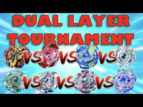 Beyblade Dual Layer Tournament! Who is the Best Dual Layer Beyblade