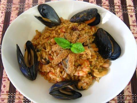 Risotto alla pescatora - Seafood Rice