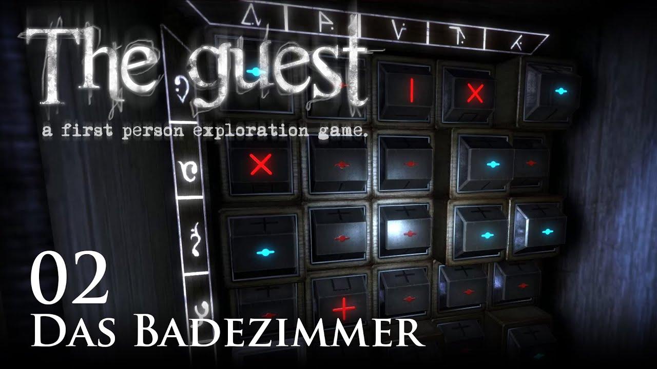 The Guest [02] [Das Badezimmer] [Twitch Gameplay Letu0027s Play Deutsch German]