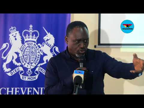 Full Speech: David Ampofo highlights the role of the media in holding Government accountable