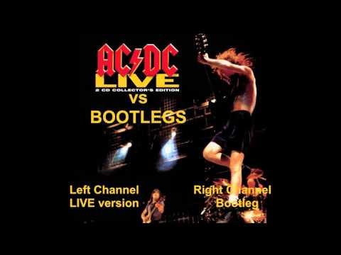 AC/DC LIVE (CD Vs Bootlegs) 12 Moneytalks