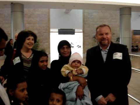 Welcoming New Immigrants Home from Yemen to Israel