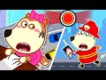 Wolf Family⭐️ Wolfoo Playing Profession With Fire Truck #2: Pretend Play Firefighter | Kids Cartoon