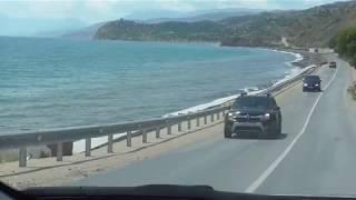 Путешествие на авто из Биробиджана в Крым, 11 часть. Крым, дорога вдоль моря