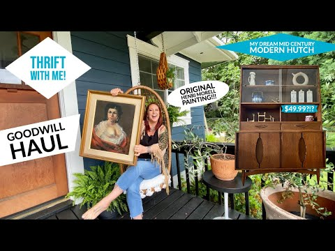 Thrift With Me! Goodwill Haul Vlog   My First Time Back At The Best Thrift Store In Vancouver!