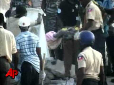 Collapsed School Demolished in Haiti