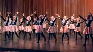 Отчетный концерт хореографического коллектива «Иверия» - 2016, часть 1