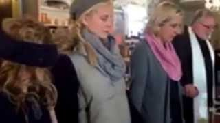 Blessing the new Monica Potter Home Store