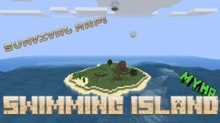 Minecraft survival map: Swimming Island (Download) 1.7.2