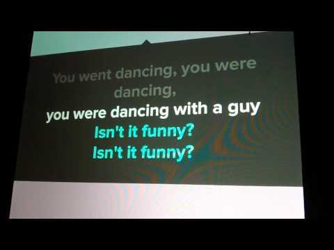 Pretty funny- karaoke