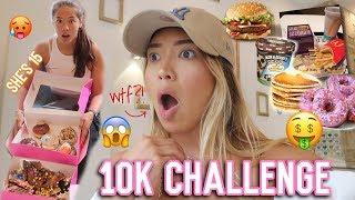 Meine 15 jährige Schwester macht die 10K Challenge (schafft sie das?!🤔) -Adorable Caro