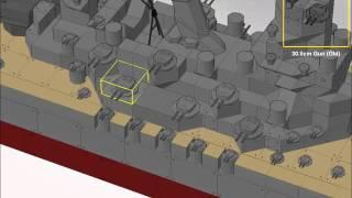 how to make the yamato on battleship craft