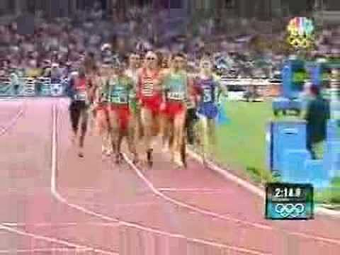 2004 Athens Olympics 1500m Final - Hicham El Guerrouj