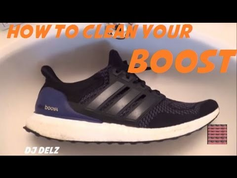 da8da774c5ac0 How To Clean adidas Boost Energy Shoes - YouTube