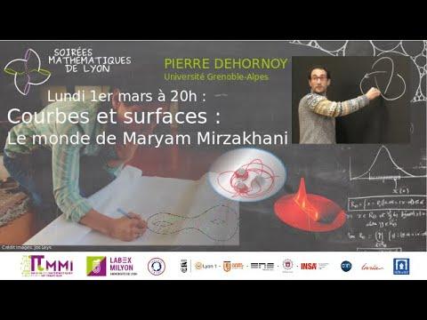 [Conférence SML] Courbes et surfaces: Le monde de Maryam Mirzakhani