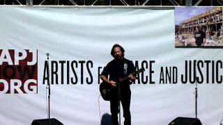 Eddie Vedder - Trouble (cut) - APJ Party - 9.10.11 Toronto