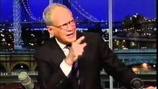 Lettermans Alan Kalter ...Funny!